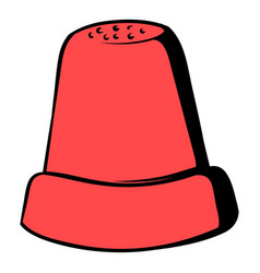 thimble icon icon cartoon vector image vector image