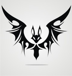 Bat Tattoo Design vector image