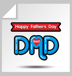 Fathers day icons 18 vector