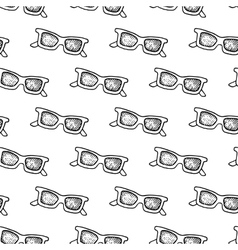 Hand Drawn Sunglasses Pattern vector