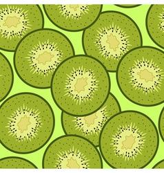 Kiwi background vector image