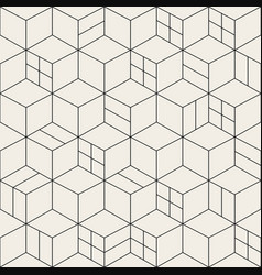 seamless geometric simple pattern - grid vector image