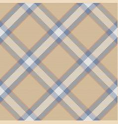 Seamless pattern scottish tartan plaid vector