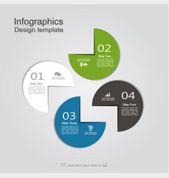 Template with place for your data vector