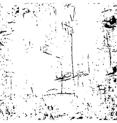 skratches grunge texture white and black 1 vector image