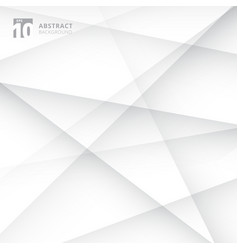 abstract lines cross geometric white and gray vector image