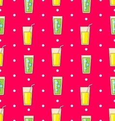 Colorful Seamless Pattern or Background vector image