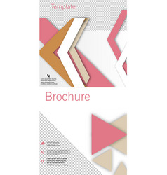 set of poster flyer pamphlet brochure cover vector image