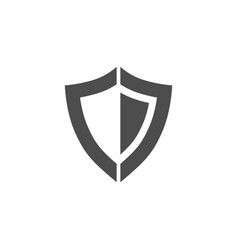 Shield icon security protection icon vector