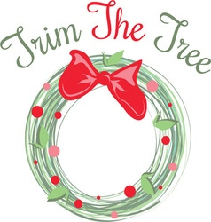 Trim The Tree vector
