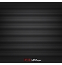 dark background with horizontal lines vector image