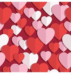 heart pattern seamless vector image