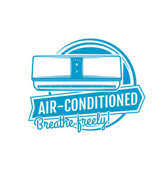 Air conditioning home climate control appliances vector