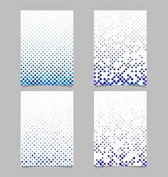 Geometrical circle pattern brochure template vector