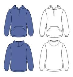 Hoodie sweater vector