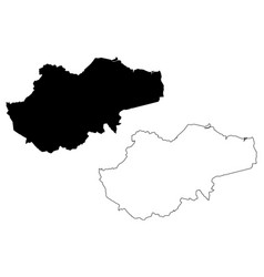 Jambi map vector