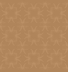 light gold ornamental swirl background vector image