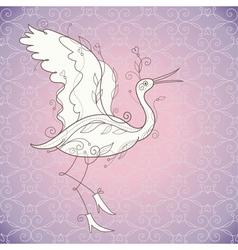 vector bird vector image