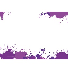 Background with purple blotces vector image