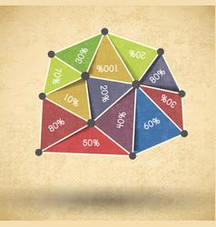 business diagram design vector image vector image