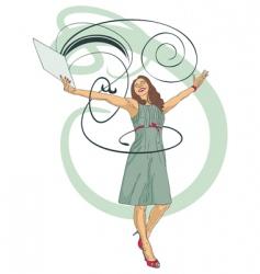 business joy vector image vector image