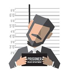 Death penalty concept vector
