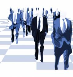 suit brigade vector image vector image