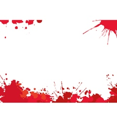 Background with red blotches vector image