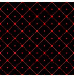 Polka dot seamless pattern Rhombus ornament 1 vector image vector image