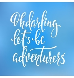 Travel life inspiration quotes lettering vector image vector image