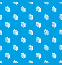 glass construction block pattern seamless vector image