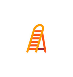 Ladder icon flat element of vector