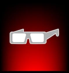modern glass vector image