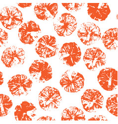 Orange stamp seamless background orange juice vector