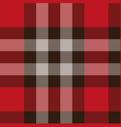scottish plaid pattern seamless vector image
