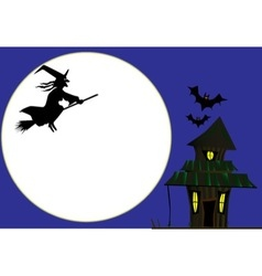 Witches Cottage vector image