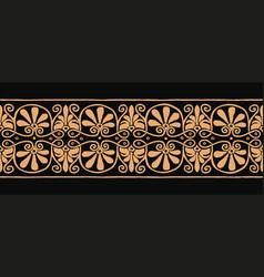 Ancient greek ornament vector