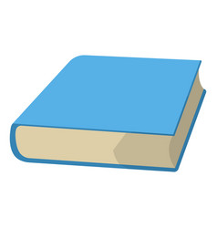 Book and textbook school supplies icon and logo vector