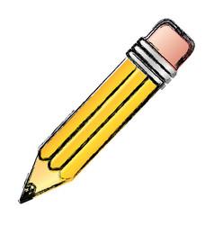 Contour pencil icon stock vector