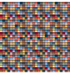 Geometric multicolored background vector image vector image