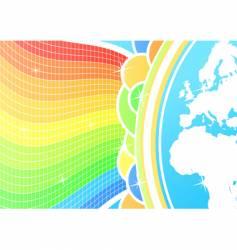 global celebration background vector image