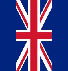 hanging vertical flag vector image