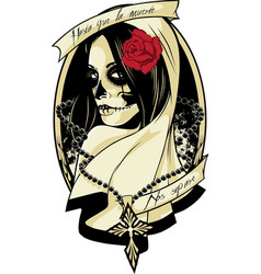 lady death vector image
