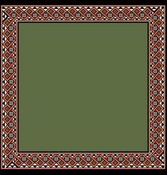 Medieval ornament vector