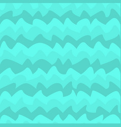 Water wave seamless pattern vector