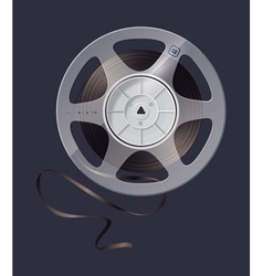 magnetic tape vector image vector image