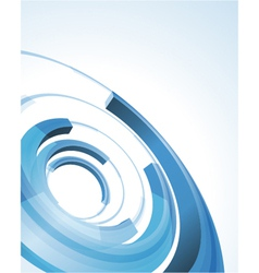 Abstract modern circle rings background vector image vector image