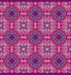 abstract ethnic vintage seamless pattern geometric vector image