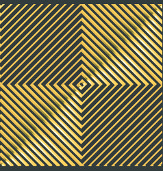 abstract gold square pattern vector image