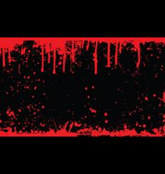 blood splat vector image vector image
